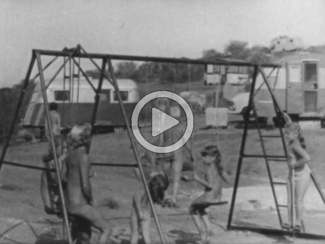 Study of Californian Nudist Colony in the 1950's. Naturism. | Huntley Film Archives